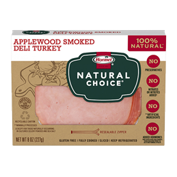 HORMEL NATURAL CHOICE Applewood Smoked Turkey