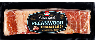 HORMEL<sup>®</sup> BLACK LABEL<sup>®</sup> Pecanwood Bacon 24oz Stack Pack