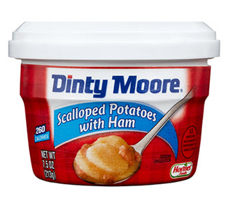 DINTY MOORE<sup>&reg;</sup> Scalloped Potatoes with Ham