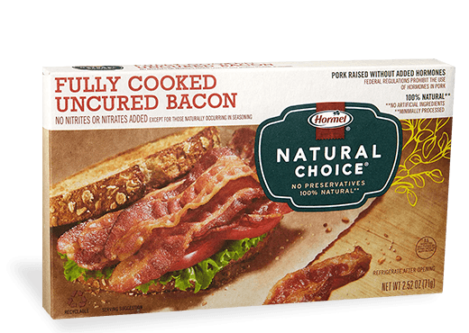 HORMEL<sup>®</sup> NATURAL CHOICE<sup>®</sup> Fully Cooked Bacon