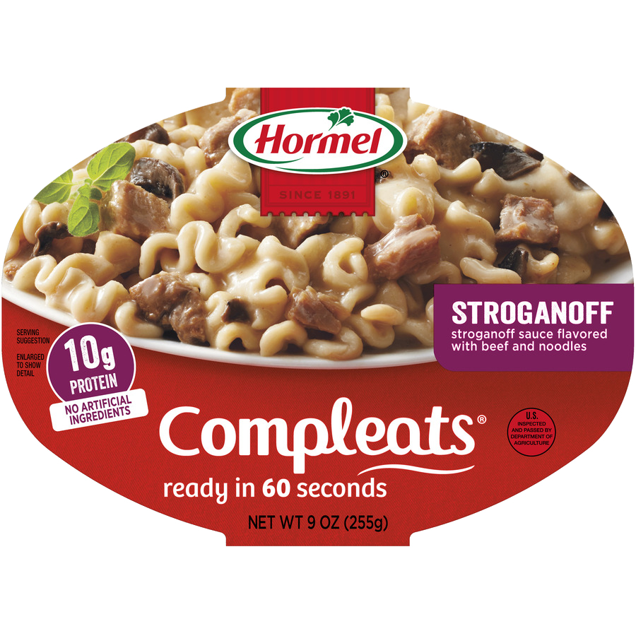 HORMEL<sup>®</sup> COMPLEATS<sup>®</sup> Beef Stroganoff