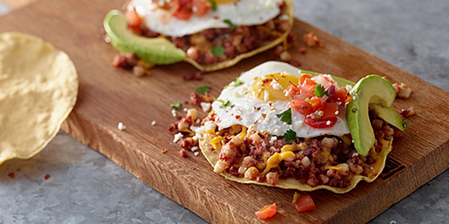 Hash Breakfast Tostada