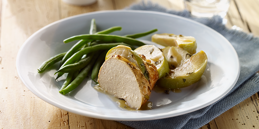 Honey Apple Pork Tenderloin