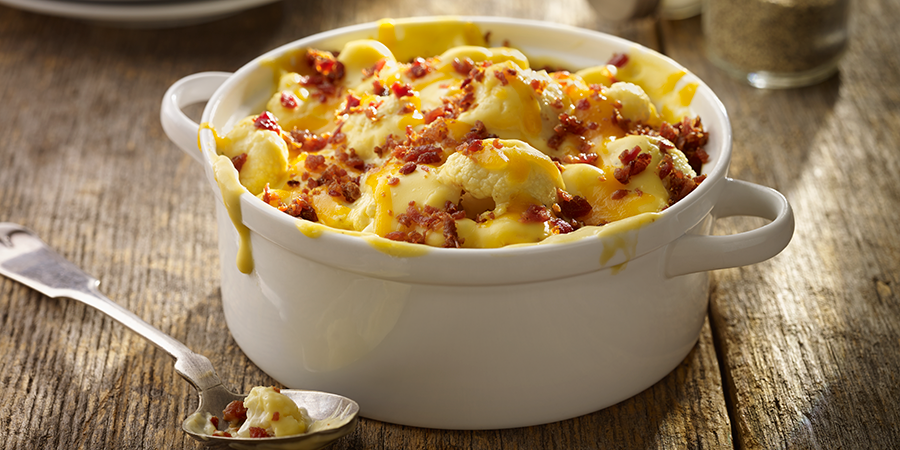 Cheesy Bacon Cauliflower