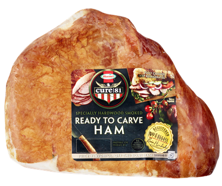 HORMEL<sup>&reg;</sup> CURE 81<sup>&reg;</sup>&nbsp;Ready To Carve Boneless Ham