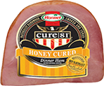 HORMEL<sup>&reg;</sup> CURE 81<sup>&reg;</sup> Honey Cured Boneless Ham