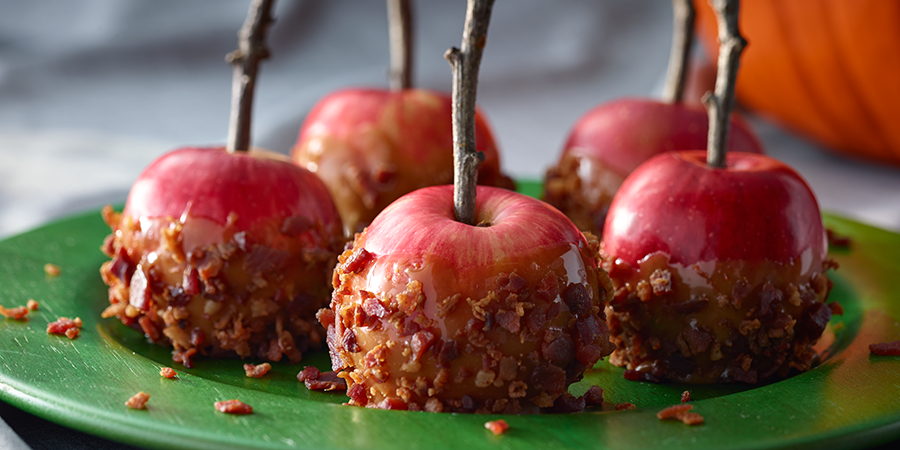 Bacon Caramel Apples