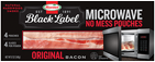 HORMEL<sup>®</sup> BLACK LABEL<sup>®</sup> Microwave Ready Bacon