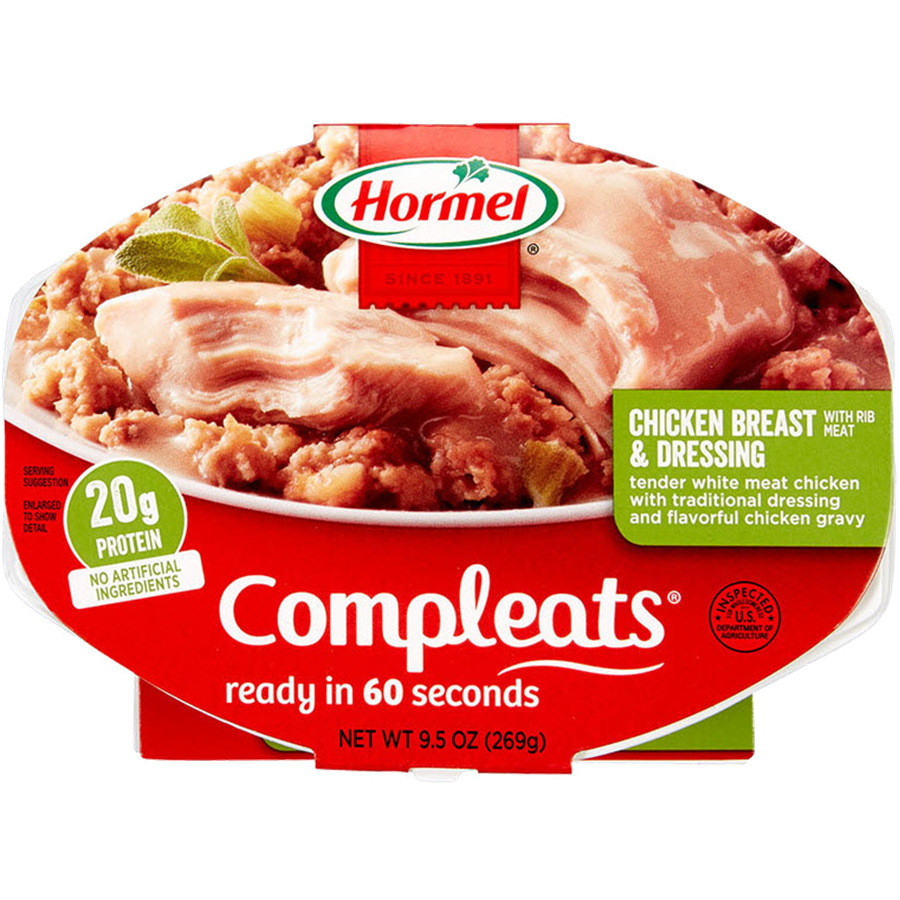 HORMEL<sup>&reg;</sup> COMPLEATS<sup>&reg;</sup> Chicken Breast &amp; Dressing